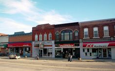 Armada Michigan's downtown by Larry the Biker, via Flickr