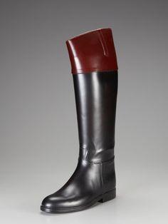 Aigle Riding Rain Boots.  Christmas present from my perfect boyfriend!!