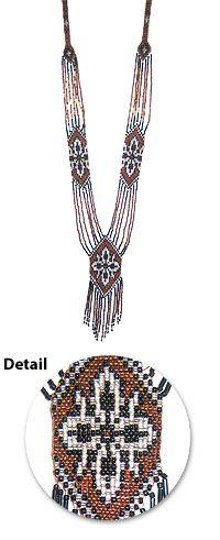 ukrainian beaded necklace