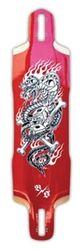 "Bombsquad-Snake Eyes Longboard Skateboard Deck-10"" x 39"""