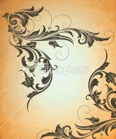 ... filigree tattoo stencil patterns filigree tattoos lacy patterns tattoo