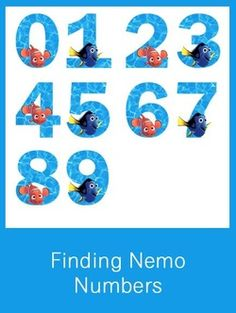 Finding Nemo Numbers - FREE PDF Download