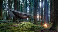 There are backyard and lazy-day hammocks, and then there is Hennessy Hammock's Deep Jungle Asym Zip model.