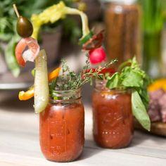 Terrain A Make-Your-Own Bloody Mary Bar #shopterrain