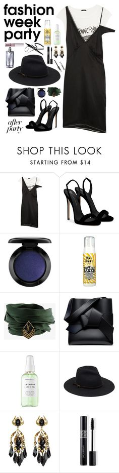 """""""After Party: chill glam"""" by weightlessdreams ❤ liked on Polyvore featuring R13, Giuseppe Zanotti, John Lewis, Bed Head by TIGI, Yves Saint Laurent, Herbivore, Gucci, Christian Dior, Cartier and afterparty"""