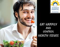 If a person is angry or depressed, eating will not solve health-related situations. Instead, may make the underlying problems worse. #EatHappily #StayHealthy #KickAwayDepression