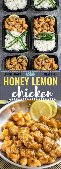 ASIAN LEMON CHICKEN MEAL PREP + RECIPE VIDEO – Medi Idea