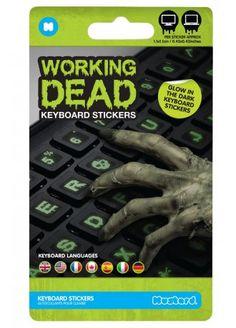 Working Dead Keyboard Stickers