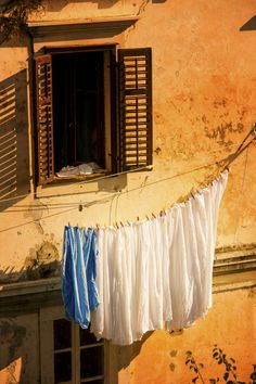 Laundry Day in Dubrovnik, Croatia