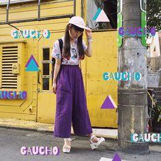 GAUCHO#RunasFashion 最近忙しくてその日のコーデを朝適当に決めることが多かったけど今日はゆっくり決められた!着るもので気分って全然ちがうこれ!っていうのが決まるとワクワクするしかわいい服着ると幸せな気持ちになるな〜(((o(*▽*)o)))