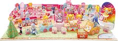 Pretty Cure Rainbow Town Paper Models - by Toei Anime Co