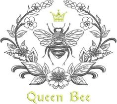 Machine Embroidery Designs at Embroidery Library! - Laurel and Napoleonic Bee 1 Tattoo, Piercing Tattoo, Body Art Tattoos, New Tattoos, Tatoos, Celtic Tattoos, Chest Tattoo, Hand Tattoos, Sternum Tattoo