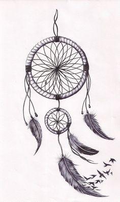 Dreamcatcher tat by mmpninja.deviantart.com on @deviantART: