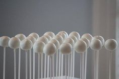 "Smoothly Dipped Cake Pops. An ""easy"" tutorial. Each time I attempt cake pops, it is a massive disaster, so we'll see."