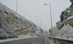 Φωτογραφικό υλικό του SerresLand.gr: Στα λευκά ντύθηκαν οι Σέρρες