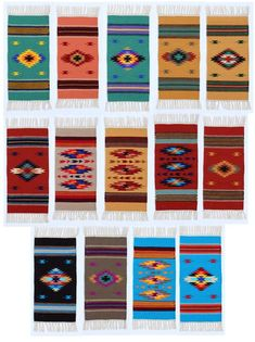 El Paso Saddleblanket - Wholesale Southwest Home Decor & Accessories Southwest Rugs, Southwest Home Decor, Southwestern Decorating, Small Tapestry, Tapestry Wall Hanging, Joanna Gaines Rugs, Mat 10, Western Crafts, Antique Keys