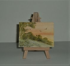 aceo miniature art painting (ref 213) £3.50