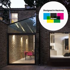 modest glass extension to a house in Dalston by Shoreditch-based architects Platform 5.