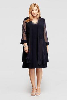 http://www.davidsbridal.com/Product_short-jacket-dress-with-illusion-panel-jacket-8442w_plus-size-dresses