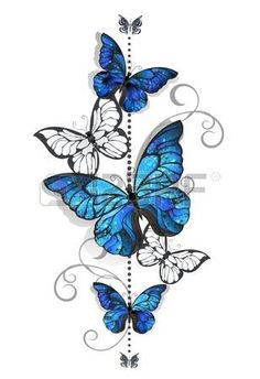 Buy Blue Morpho and White Butterflies by on GraphicRiver. Composition of blue butterflies morpho and white butterflies on a white background. Blue Morpho, Morpho Bleu, Morpho Azul, Morpho Butterfly, Colorful Butterfly Tattoo, Butterfly Drawing, Butterfly Wallpaper, Butterfly Painting, White Butterfly