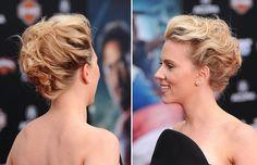 penteados para cabelo curto - Google Search
