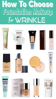 best foundation to hide wrinkles and pores - I realize we're supposed to time gracefully…but psh, what ever. How To Choose Foundation, Best Foundation, Liquid Foundation, Makeup Tutorial Foundation, No Foundation Makeup, Drugstore Foundation, Makeup Dupes, Makeup Cosmetics, Natural Cosmetics