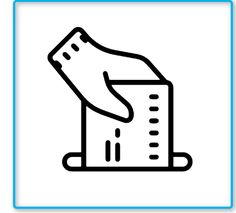 Elections Icon This page contains the vector icon, as well as variations of this icon in different visual styles, and related icons. All icons are in the flat vector style, however, differ by the line thickness, fill, and corner radius.