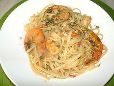 Mediterranean Cook: Γαριδομακαρονάδα με Ούζο Spaghetti, Ethnic Recipes, Food, Meal, Essen, Hoods, Meals, Eten