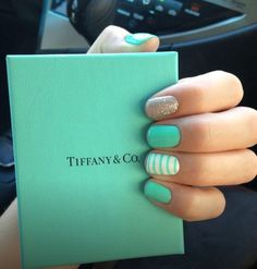 Tiffany and co. Nails