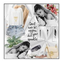 """Ariana Grande"" by goharkhanoyan ❤ liked on Polyvore featuring Mr Perswall, Chloé, Wet Seal, Diesel, Casmari, Michael Kors, Gorjana, Nearly Natural and Kim Salmela"