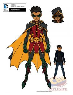 Jovens Titãs Rebirth Robin