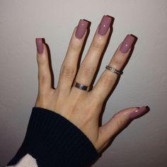 long square acrylic nail