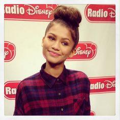 Video: Candice From Radio Disney Giving Zendaya Tips On Co-Hosting Radio Disney's Family VIP Birthday