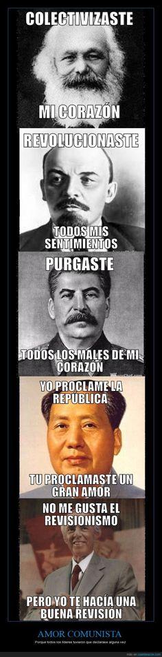 Comunistas históricos nos dan las claves del amor