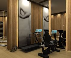 Hotel gyms equipment and machines - Technogym