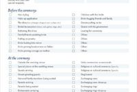 Simple Wedding Planning Checklist Pdf  Wedding Planning