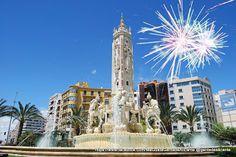 GENTE DE ALICANTE 17 In, Burj Khalifa, Plaza, Valencia, City, Building, Travel, Tumblr, Alicante Spain