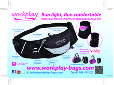 Look at all the features in this Womens fit running bag