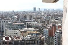 View of Barcelona from the top of La Sagrada Familia   Excursions in Barcelona Excursions in Barcelona Vacations in Barcelona Sightseeing tours, airport transfers, taxi, interpreter and your personal guide in Bar