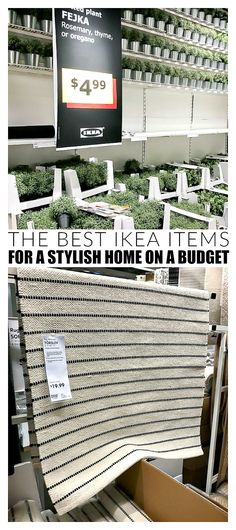 YOU WON'T WANT TO MISS THIS LIST! How to use everyday IKEA items to update and decorate your home! Ikea Hacks, Cheap Home Decor, Diy Home Decor, Buy Decor, Do It Yourself Ikea, Ikea Decor, Diy Garden Furniture, Ikea Furniture, Bedroom Furniture