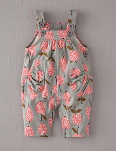 Mini Boden Baby Brand New Jersey Dungarees Grey Apples & Pears Cotton Baby Outfits, Kids Outfits, Little Girl Fashion, Fashion Kids, Little Girl Dresses, My Baby Girl, Baby Baby, Baby Girls, Baby Sewing