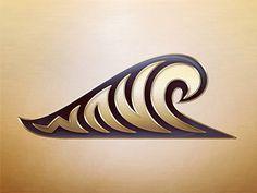 Wave logo by Jan Zabransky
