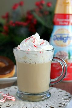 White Chocolate Peppermint Mocha - easy make at home recipe