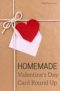 valentine's day handmade cards pinterest