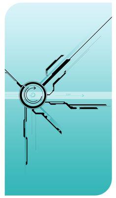 Vector Tech by on DeviantArt Typography Design, Logo Design, Graphic Design, Tech Tattoo, Cyberpunk Tattoo, Tech Art, Technology Wallpaper, Desenho Tattoo, Circuit Design