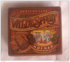 Boîte en métal  HOFNAR Wilde Spriet 50 cigarillos