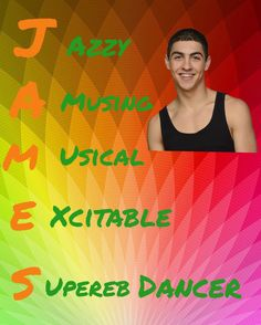 James from The Next Step Cool Dance, Best Dance, Step Tv, Step Program, Thing 1, The Next Step, Pictures Of People, Dance Moms, Best Shows Ever