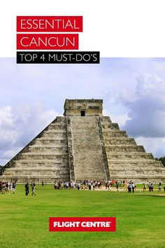 Beyond Cancun's idyllic beachfront is a playground for outdoor adventurers, culture vultures, and history buffs. From recently discovered underground nature reserves and Mayan ruins to the hippest bars and nightclubs in downtown Cancun, here are our top things to do in Cancun. Mayan History, Travel Expert, Hidden Beach, Cultural Experience, Beach Vacations, Mayan Ruins, Cancun Mexico, Cabo San Lucas, Caribbean Cruise