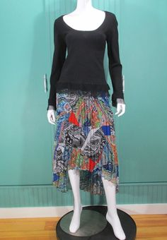 Anthropologie Moth Scoop Neck Sweater NEW Black Crochet  #Anthropologie #ScoopNeck
