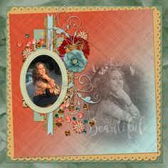 Kindly made by Lisa Minor using my Cameron kit.  #mymemories #mymemoriessuite #scrapbooking #digitalscrapbooking #digiscrapbooking #digitalscrapbookkits #kits #papers